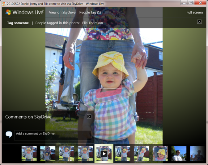 Windows Live Photo Viewer